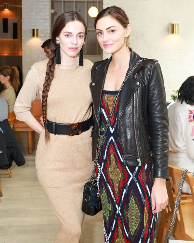 Phoebe Tonkin and Hailey Gates - Barrie's Friendsgiving Lunch hosted by Laure Heriard Dubreuil in NY