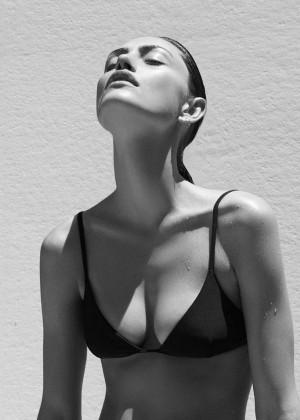 Phoebe Tonkin - Campaign Matte Swim by Alexandra Nataf