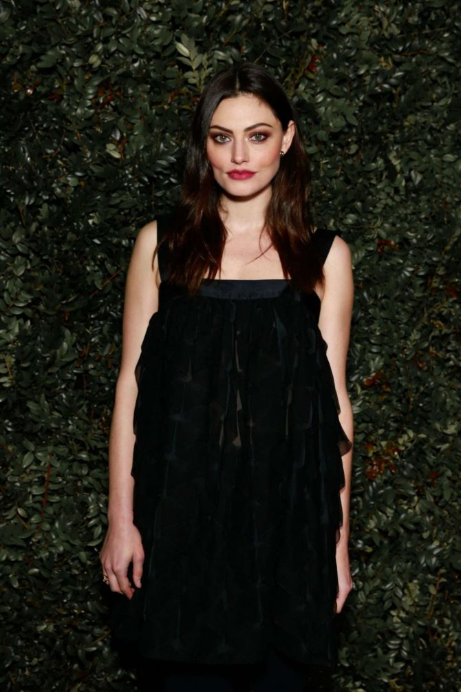 Phoebe Tonkin - Chanel and Charles Finch Pre-Oscar Awards Dinner in LA