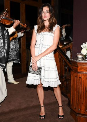 Phoebe Tonkin - Charles Finch and Chanel Annual Pre-Oscar Awards Dinner in LA
