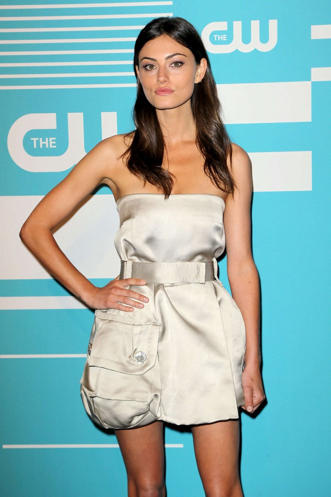 Phoebe Tonkin - CW Network's 2015 Upfront in NYC