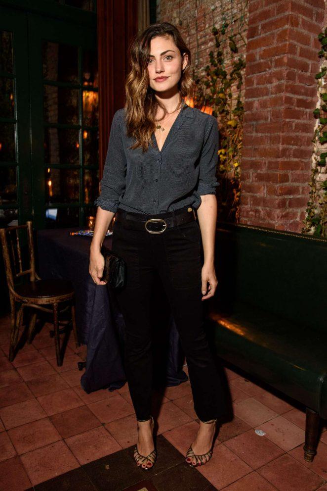 Phoebe Tonkin: FRAME Dinner SS 2017 NYFW -03