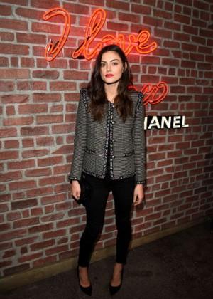 Phoebe Tonkin - I Love Coco Backstage Beauty Lounge in LA
