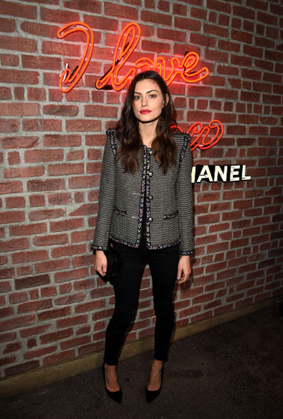Phoebe Tonkin - I Love Coco Backstage Beauty Lounge in LA