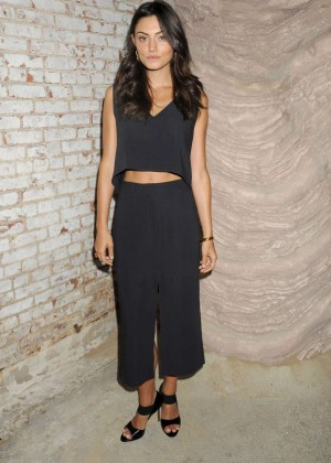 Phoebe Tonkin - MAIYET Fashion Show Spring 2016 NYFW in NYC
