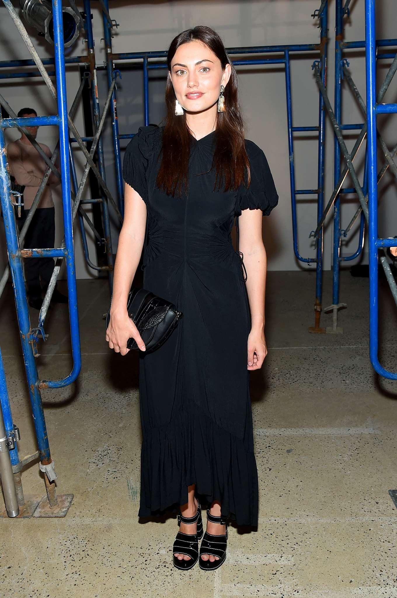 Phoebe Tonkin - Proenza Schouler Fashion Show - New York Fashion Week
