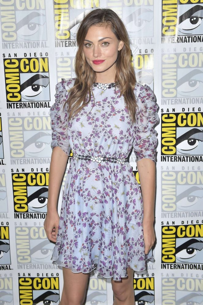 Phoebe Tonkin - 'The Originals' Press Line at Comic-Con 2016 in San Diego