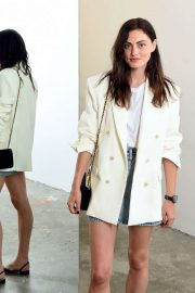 Phoebe Tonkin - Wardrobe.NYC Launch with Levi's® Collaboration in NY