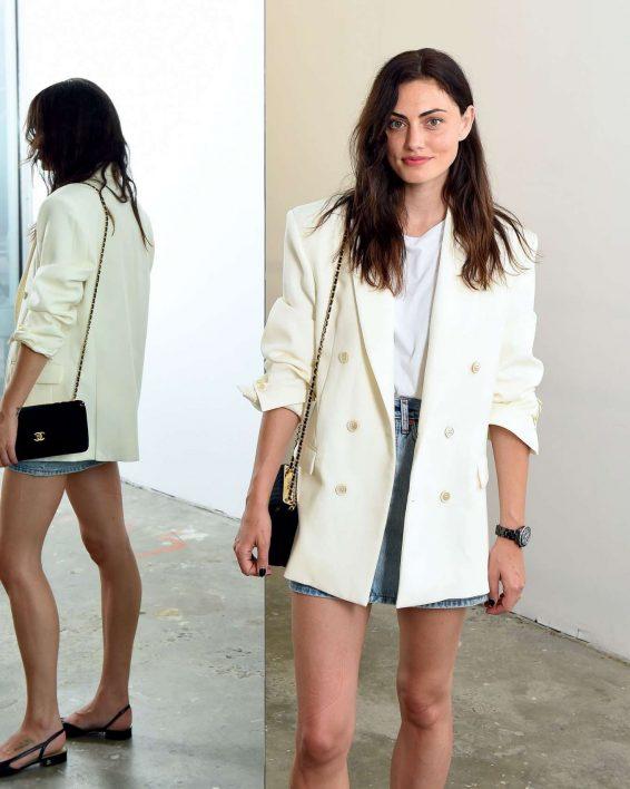 Phoebe Tonkin - Wardrobe.NYC Launch with Levi's® Collaboration in NY