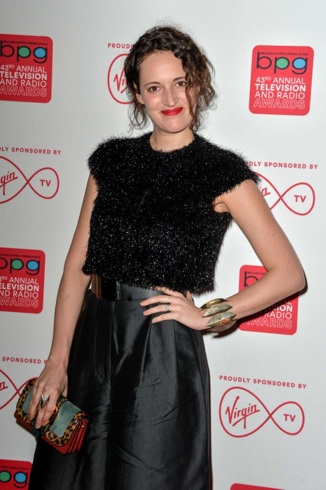 Phoebe Waller-Bridge - Broadcasting Press Guild Awards 2017 in London