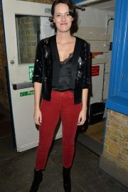 Phoebe Waller-Bridge - Leaving theatre after her final performance in London