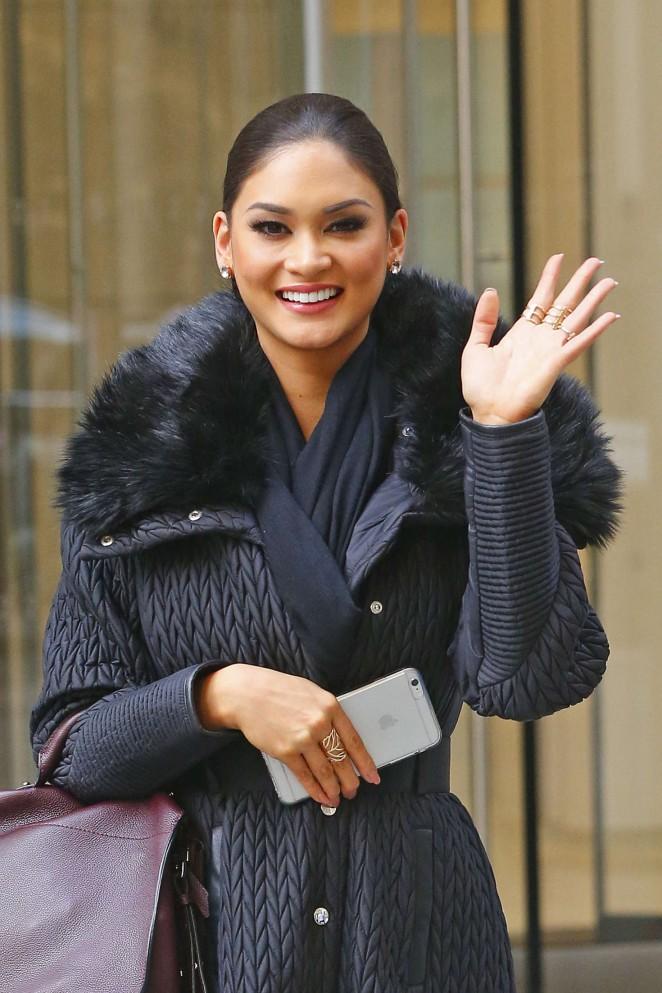 Miss Universe 2018 Name >> Pia Alonzo Wurtzbach at Sirius XM Radio Studios -04 - GotCeleb