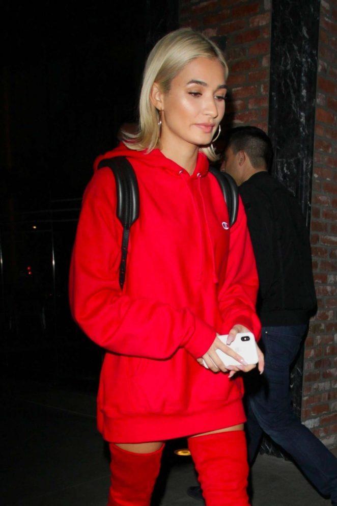 Pia Mia Perez - Heading to Avenue nightclub in Los Angeles