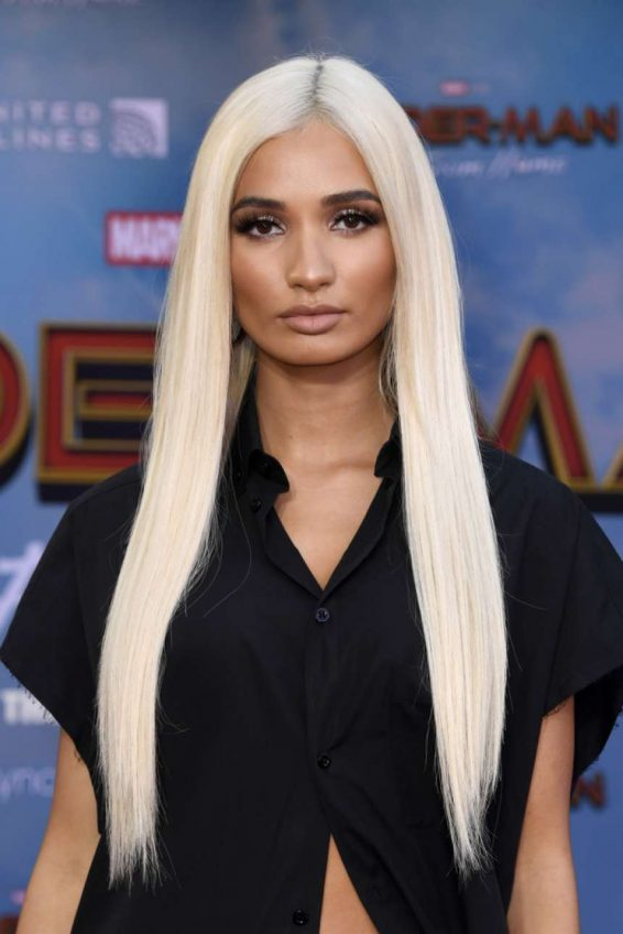Pia Mia Perez - 'Spider-Man Far From Home' Premiere in Hollywood