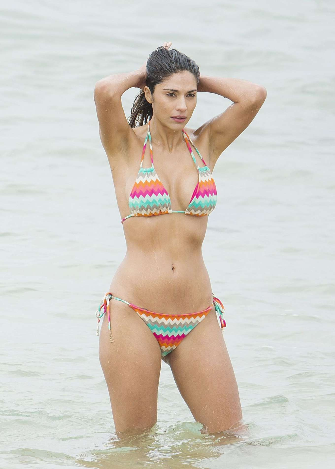pia miller in bikini on home and away set in sydney