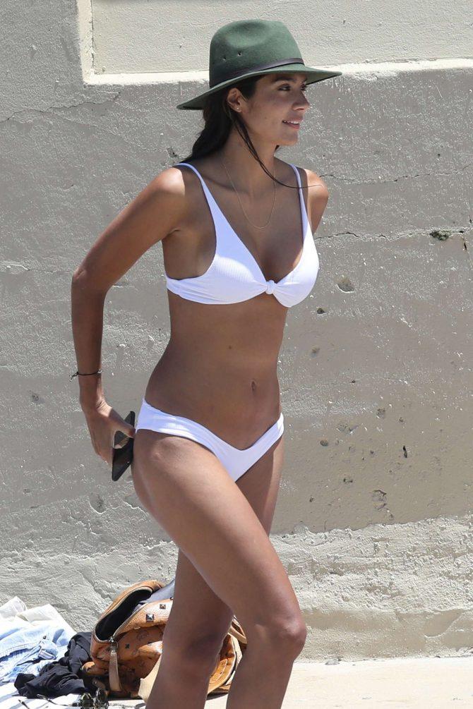 Pia Miller in White Bikini 2019 -14
