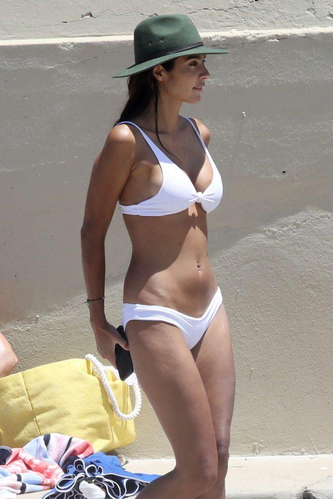 Pia Miller in White Bikini 2019 -17