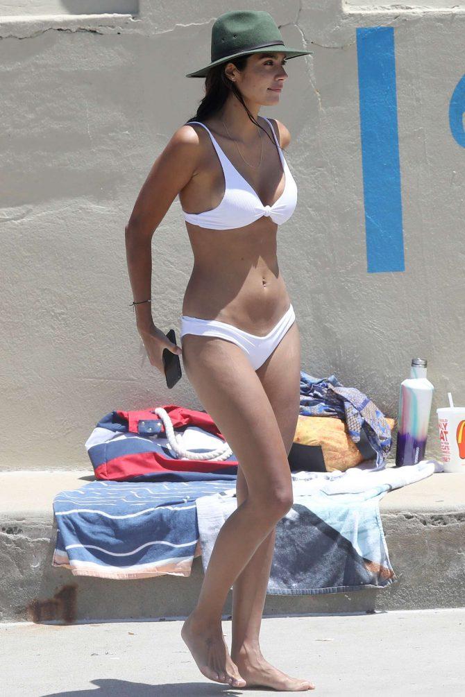 Pia Miller in White Bikini 2019 -19