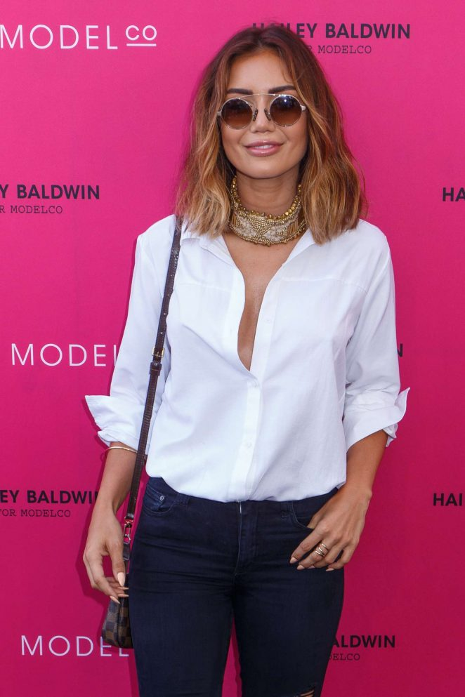 Pia Muehlenbeck - VIP launch of the Hailey Baldwin for ModelCo Cosmetics Range in Sydney