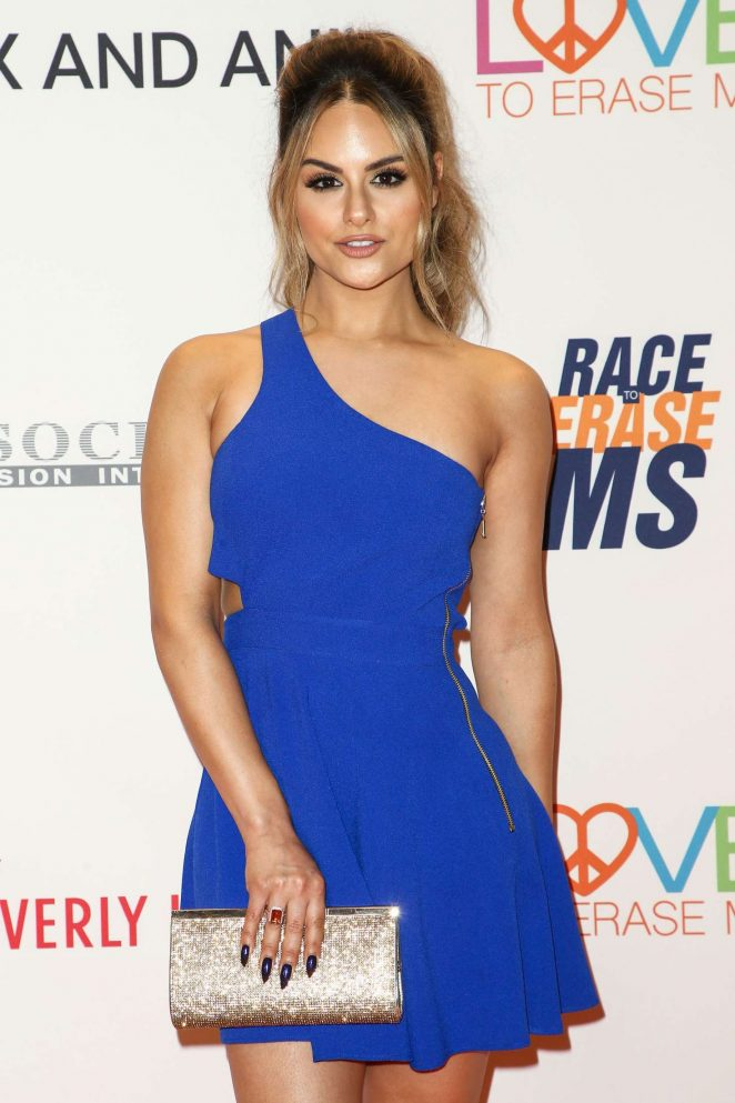 Pia Toscano - 24th Annual Race To Erase MS Gala in Los Angeles