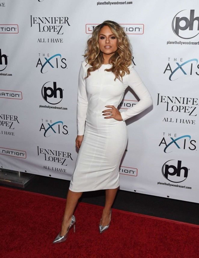 Pia Toscano - Opening night of Jennifer Lopez's 'All I Have' Residency in Las Vegas