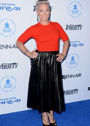 Pink - Autism Speaks To Los Angeles Celebrity Chef Gala in Santa Monica