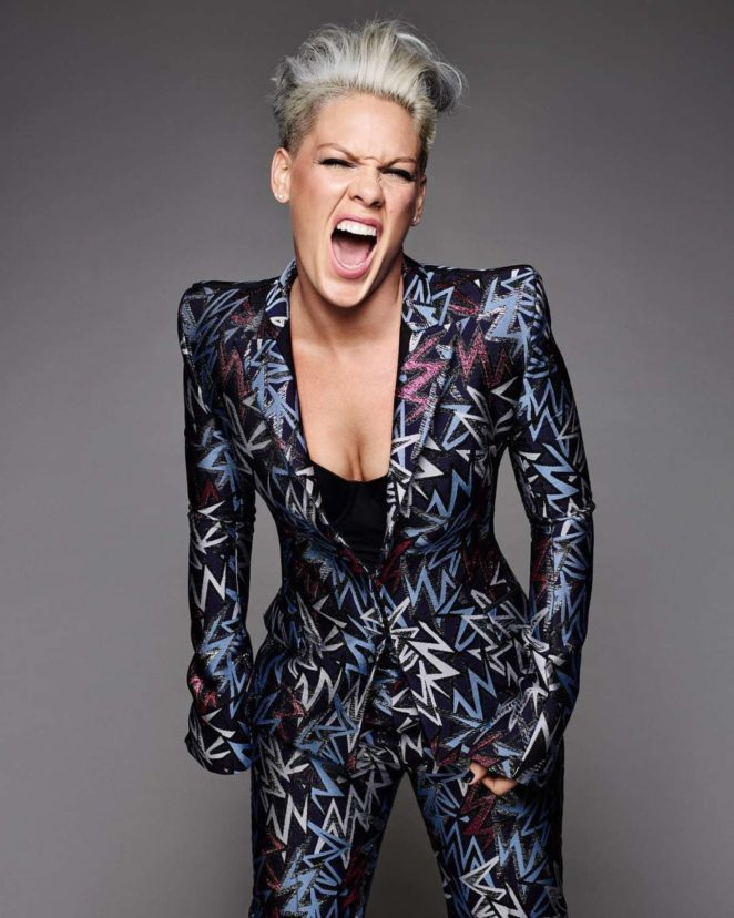 Pink - Cosmopolitan US Magazine (January 2018) adds