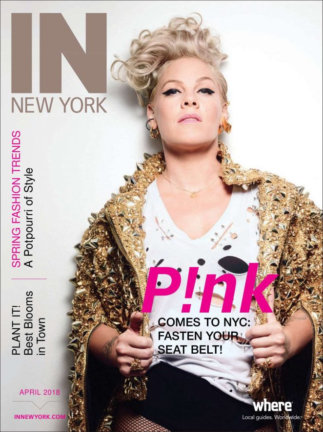 Pink - IN New York Magazine (April 2018)