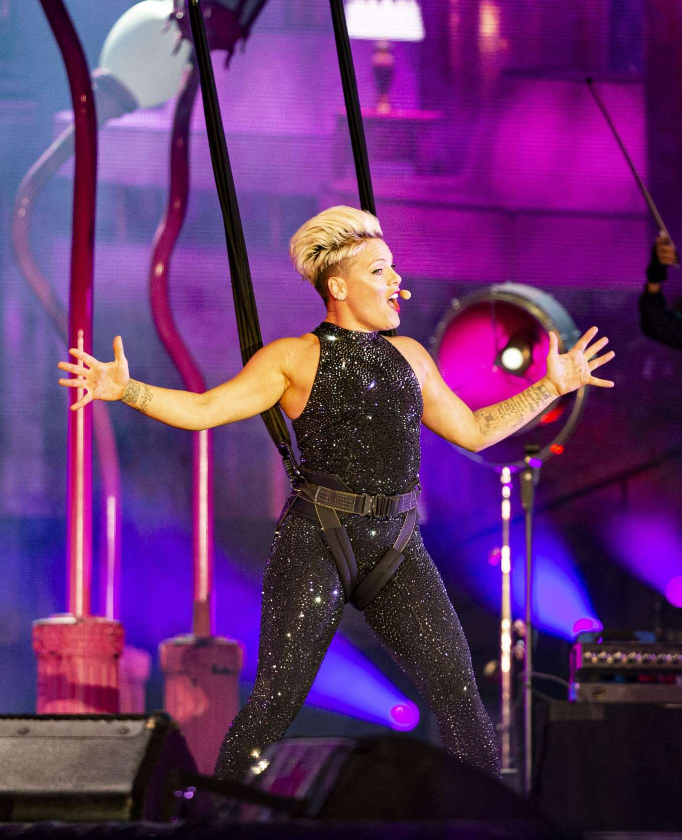 Pink - Performs at 'Beautiful Trauma World Tour' in Austin