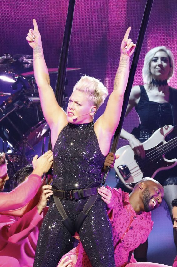 Pink - Performs on Her 'Beautiful Trauma' World Tour in Paris