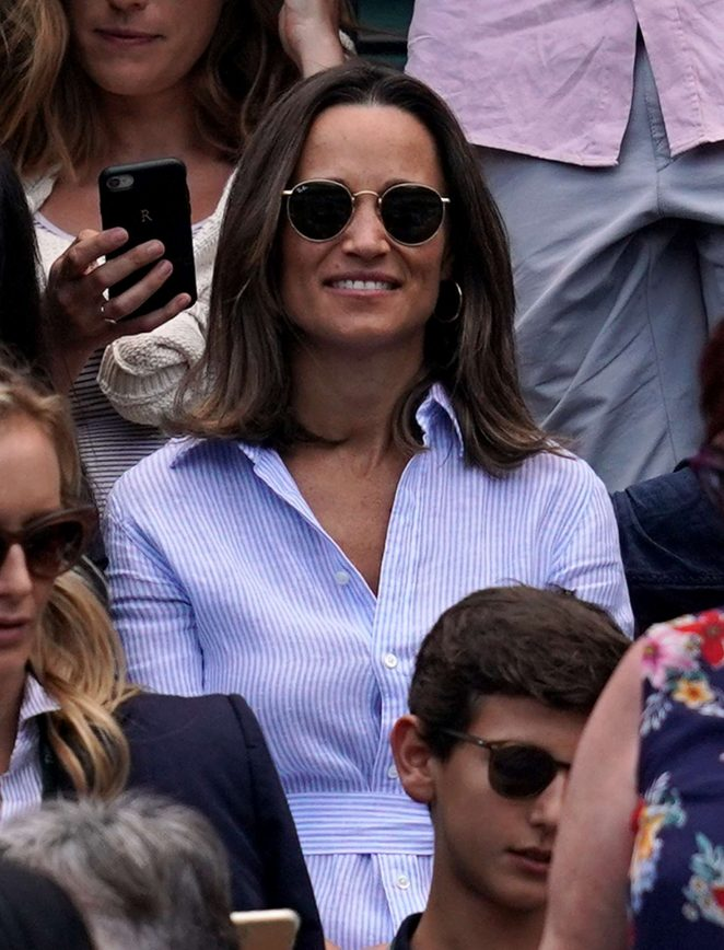 Pippa Middleton – 2018 Wimbledon in London
