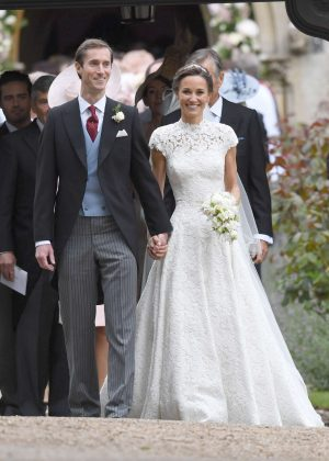 Pippa Middleton and James Matthews at St Mark's Church in Englefield