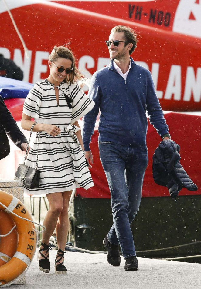 Pippa Middleton and James Matthews on honeymoon in Sydney