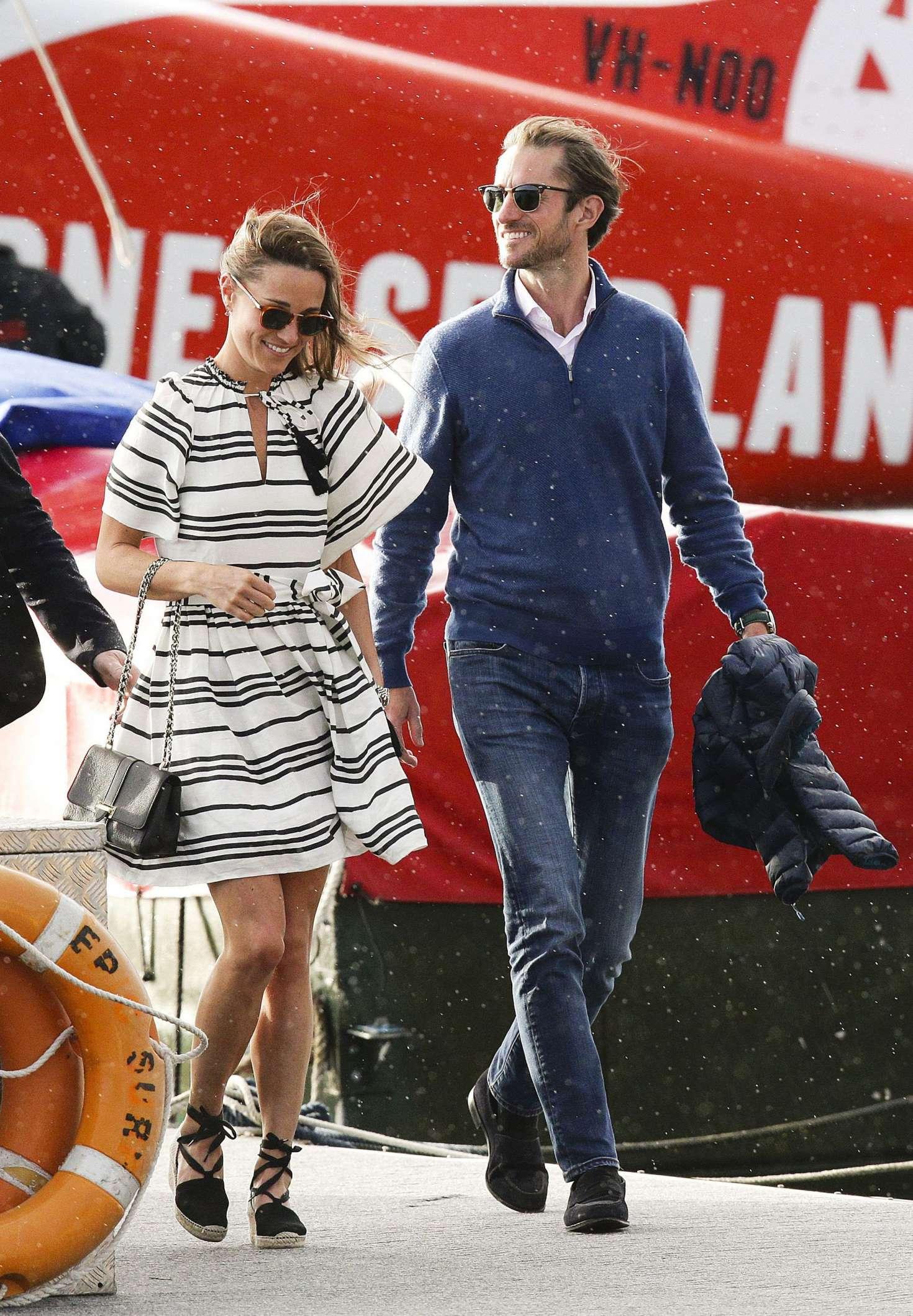Pippa Middleton And James Matthews On Honeymoon In Sydney