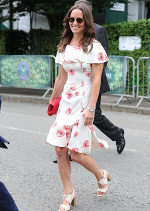 Pippa Middleton - Arriving at 2016 Wimbledon Championships in London