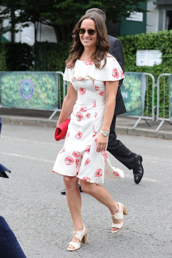 Pippa Middleton – Arriving at 2016 Wimbledon Championships in London