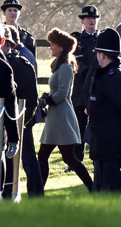 Pippa Middleton at the Sandringham Memorial Cross in Norfolk