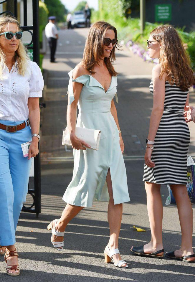 Pippa Middleton at Wimbledon 2017 in London