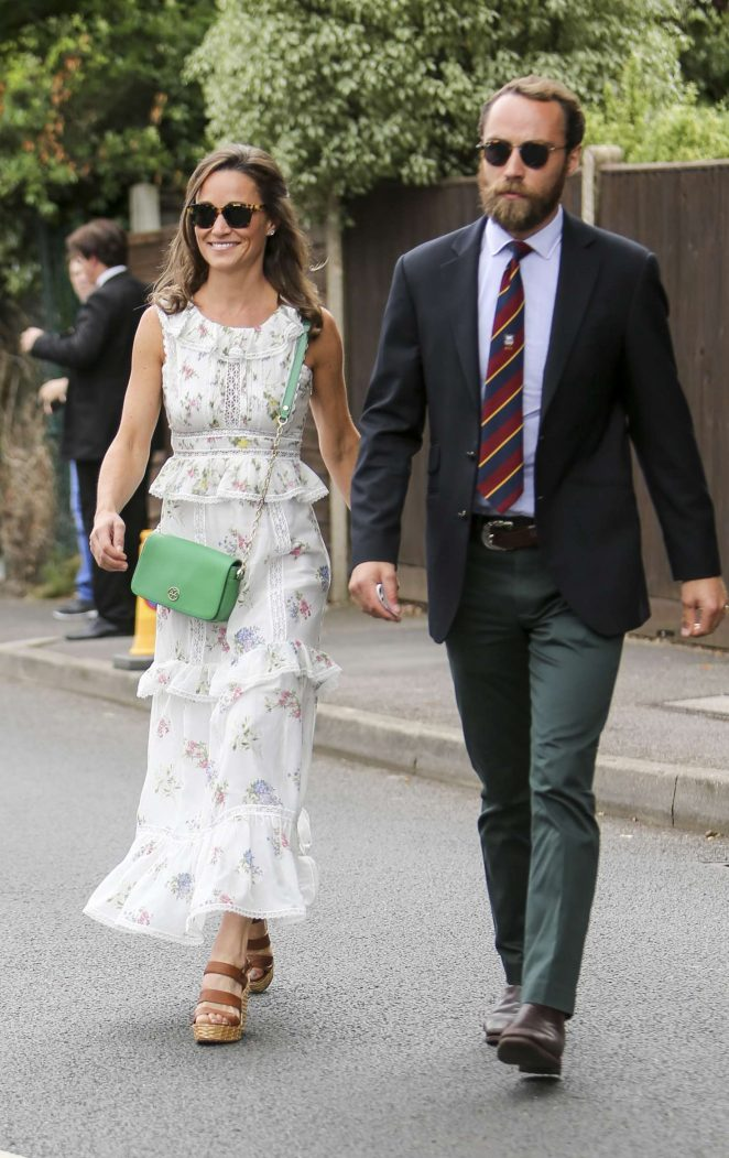Pippa Middleton at Wimbledon Championships in London