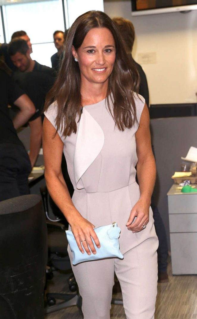 Pippa Middleton - BGC Annual Global Charity Day at the Canary Wharf in London
