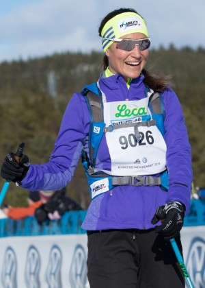 Pippa Middleton - Birkenbeinerrennet Ski Race in Lillehammer