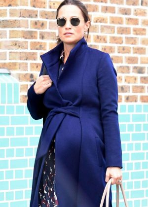 Pippa Middleton - Leaving private members gym in London