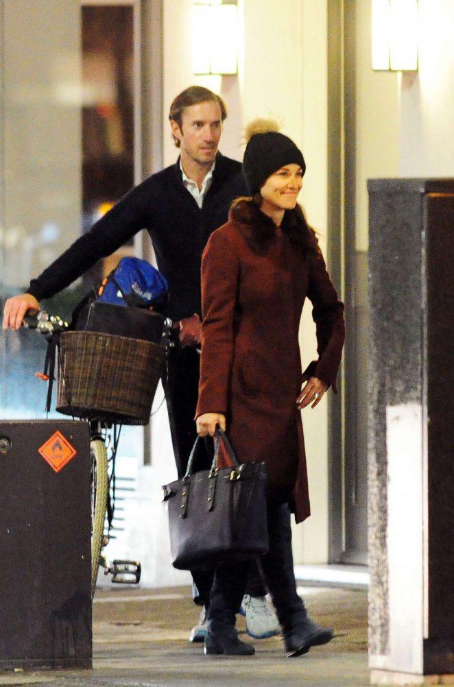 Pippa Middleton – Leaving the Siberian Flooring store in London
