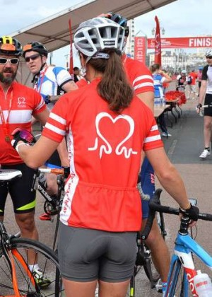 Pippa Middleton - London To Brighton Bike Ride For British Heart Foundation in England