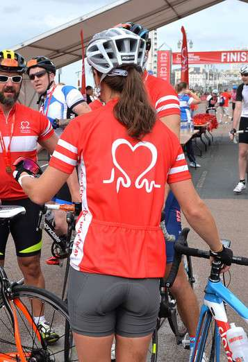 Pippa Middleton - London To Brighton Bike Ride For British Heart Foundation in England