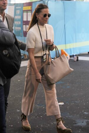 Pippa Middleton - Seen at Wembley Stadium for the Euro 2021 England Semi Final Match