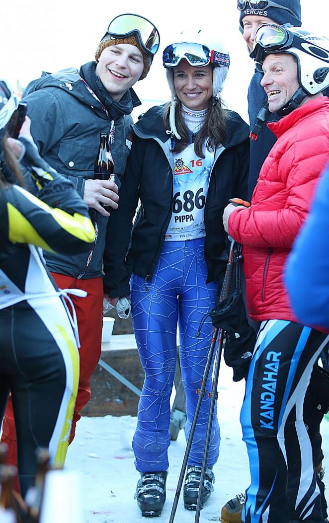 Pippa Middleton Skiing in Switzerland -06