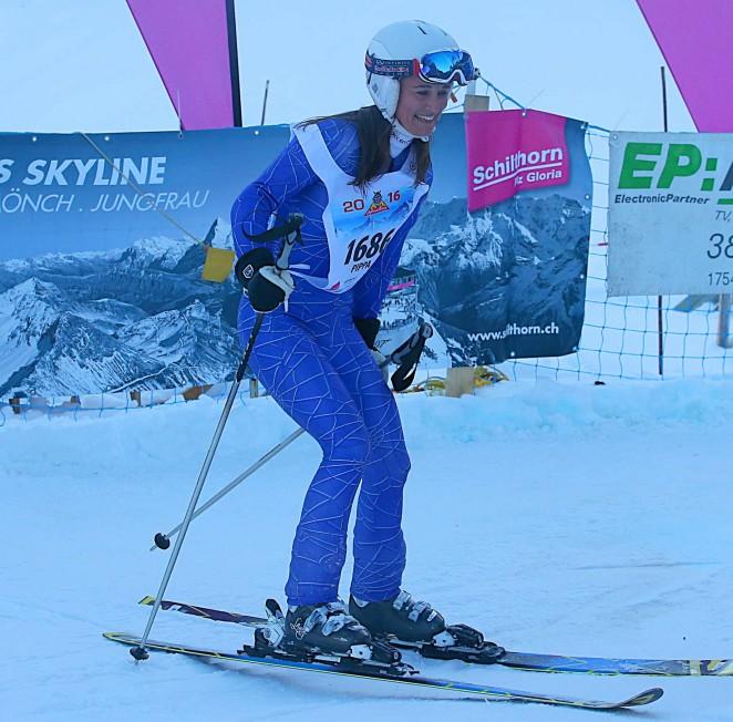 Pippa Middleton Skiing in Switzerland -19