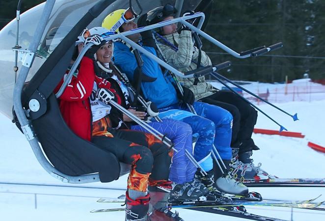 Pippa Middleton Skiing in Switzerland -20