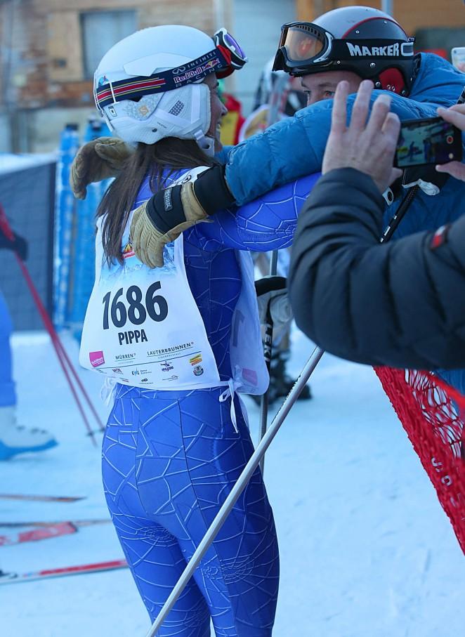 Pippa Middleton Skiing in Switzerland -22